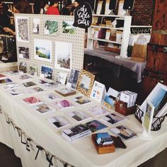 Set-up for the Post Market at Steamwhistle Brewery on July 19, 2015