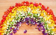 Co daje zimą tęczowa dieta Real Food Recipes, Vegan Recipes, Eat The Rainbow, Health Eating, Egg Free, Going Vegan, Meal Prep, Food Prep, Health And Wellness