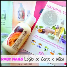 Roby Nails - Passion Fruit and Champagne