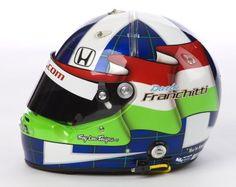 Franchitti In Indycar Helmet Bracketology Indy Car Racing, Indy Cars, Helmet Paint, Racing Helmets, Cycling Helmet, Helmet Design, Most Beautiful Man, Custom Paint, Inventions