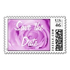 light purple, Save the Date Stamps