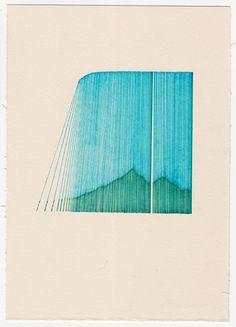 Diary Fragments - drawing by Mario Kolaric