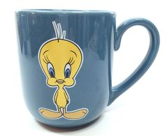 Looney Tunes Tweety Bird Coffee Mug Cup Cartoon Vintage 1996 16 oz. Warner Bros.