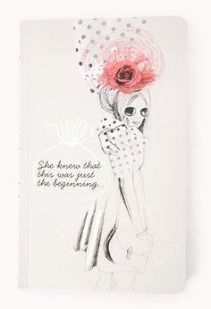 Just The Beginning Notebook | $8