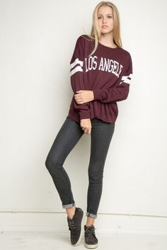Brandy ♥ Melville | Veena Los Angeles Sweater - Pullovers - Sweaters - Clothing