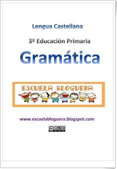Cuadernillo resumen de gramática de 3º de Primaria Spanish Classroom, Learning Spanish, Third Grade, Teacher Resources, Have Time, Language, Study, Teaching, Education