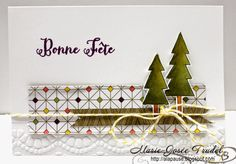 A La Pause: Encore Life In The Forest :-) Marie-Josée Trudel SU Stampin' Up!