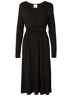 Nursing dress from Mamalicious. Ideal with both sneakers or a pair of stilettos. Nursing Wear, Nursing Dress, Maternity Fashion, Elegant, Spandex, Dresses For Work, How To Wear, Black, Stilettos