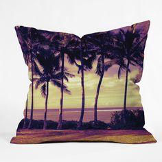 Deb Haugen Crozier Sunset Throw Pillow | DENY Designs Home Accessories