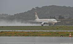 "Etihad Airways Airbus A320-200 - cn 4077 A6-EIM First Flight Oct 2009 Age 5.6 Years Test registration F-WWBO Athens International Airport ""Eleftherios Venizelos"" ATH/LGAV 27/10/2010"