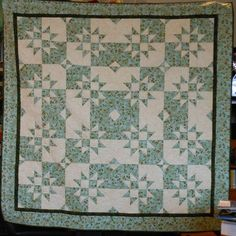 Disappearing Nine Patch technique from Jenny Doan but with a different block layout.