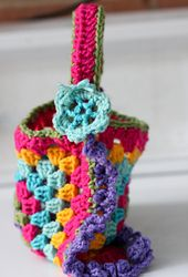 Ravelry: Granny Square Purse pattern by Kelly's Kollections