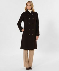 Brooks Brothers Double-Breasted Peacoat - *Adore*