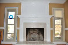 brick fireplace makeover - Google Search