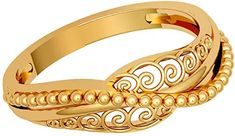 Buy JewelOne 22k (916) Yellow Gold The Nerina Ring at Amazon.in Gold Ring Designs, Gold Jewellery Design, Real Gold Jewelry, Rings Online, Cartier Love Bracelet, Jewelry Stores, Gold Rings, Bangles, Rose Gold