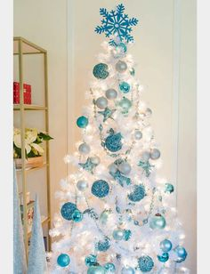 Attractive But If You Truly Want To Stand Out, Weu0027d Suggest You Go For A Blue Christmas  Tree This Year. Weu0027ve Gathered A List Of Blue Christmas Tree Decoration  Ideas.