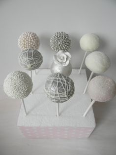 Hmmm maybe cake pops