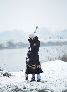 Trafalgar D Water Law One Piece Cosplay