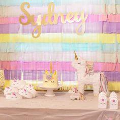 Sombrero del partido unicornio / / corona unicornio / / favor