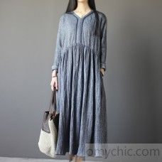 green cotton spring dress plus size dresses long sleeve women