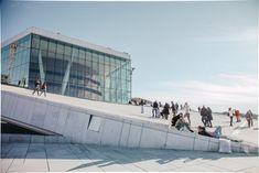 Modern Buildings, Beautiful Buildings, Modern Architecture, Oslo Opera House, Rehearsal Room, Olafur Eliasson, Through The Window, Urban Design, Installation Art