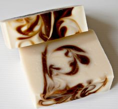 Vanilla Sandalwood & Honey cold process soap.