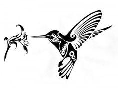 Эскизы тату колибри   ТриТатушки
