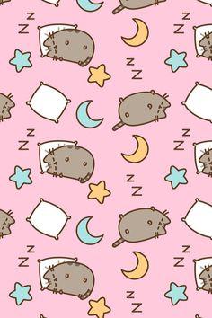 Cat Wallpaper, Kawaii Wallpaper, Mobile Wallpaper, Pattern Wallpaper, Wallpaper Backgrounds, Iphone Wallpapers, Vintage Wallpapers, Iphone Backgrounds, Kawaii Drawings