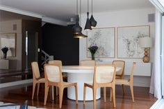 Modern interiors by Luciana Penna