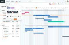 Gantt Filter UI Design designed by Ildiko Gaspar. Connect with them on Dribbble; Schedule Design, New Flyer, Ui Web, Dashboards, Project Management, User Interface, Ui Design, Bar Chart, Filters