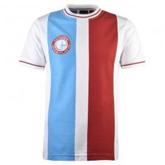 Shop our wide range of retro football shirts for Crystal Palace Football Club inspired by the kits worn by the club from the late to the early Football Shop, Classic Football Shirts, Football Kits, Crystal Palace Football, Football Fashion, Premier League, Shirt Designs, Crystals, Fa Cup