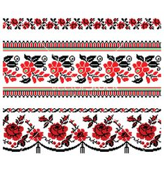 Embroidery, Russian, Stitch & Ukrainian Vector Images (over Geometric Embroidery, Floral Embroidery, Embroidery Patterns, Cross Stitch Patterns, Ukrainian Tattoo, Ukraine, Charro, Flag Art, Beading Patterns Free