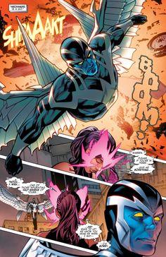 Uncanny X-Men #1 (2016)  written by Cullen Bunn art by Greg Land, Jay Leisten, & Nolan Woodard