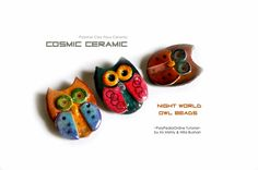 PolyPediaOnline - cosmic-ceramic-polymer-clay-faux-ceramic-tutorial