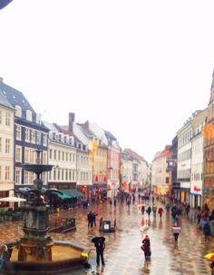 View from Cafe Norden Copenhagen