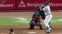 8/25/2015: Carlos Beltran's (New York Yankees) 29th Double of 2015 Season (2,416th MLB Career Hit, passes Mickey Mantle for 13th Place on the All-Time Switch Hitters List) @ New York Yankees.