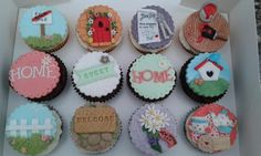 Home Sweet Home - Moving house cupcakes - Cake by Karen Flude