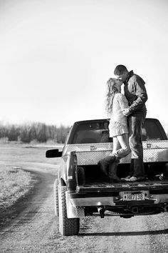 Country Couple Photography Ideas. I really want a pic like this at the top of the flats during sunset!