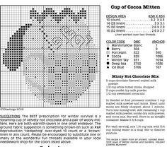 Mittens cross-stitch