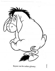 Eeyore Coloring Pages Printable And Colors 2