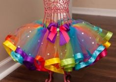Ribbon Edged Tutu Tutorial