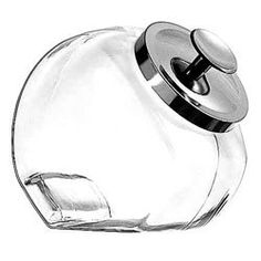 Amazon.com: Anchor Hocking 1/2 Gallon Penny or Candy Jars with Cover, Case of 4 (69857RAH) Category: Glass Storage Jars: Kitchen & Dining