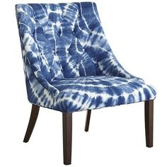 Adriel Chair - Indigo  Okay, this is fun. $500 worth of fun that won't be happening in this lifetime, but fun. :)