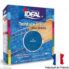 Teinture Tissu Idéal liquide Bleu jeans 25 maxi - Photo n°1