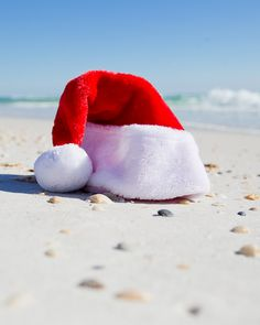 Santa ditched his hat for swim trunks. Lazy River Pool, Emerald Blue, Fort Walton Beach, Panama City Beach, White Sand Beach, Around The Worlds, Holiday, Christmas, Vacation
