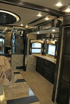 2 Story Rv Interiors Rv Trailers For Your