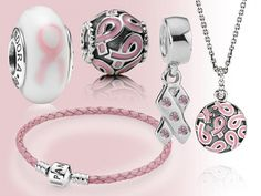 Pandora - breast cancer campaign for the 1 in 9 women (and the odd man too don't forget) who get this. Pandora has raised so much money for this cause :)