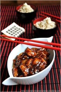 Discover what are Chinese Meat Food Preparation Polish Recipes, Meat Recipes, Asian Recipes, Cooking Recipes, Good Food, Yummy Food, Food Design, Food Preparation, Chinese Food