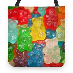 Gummy Bear Tote | Tote Bags, Grocery Bags and Canvas Bags | HUMAN