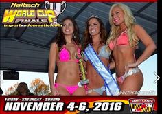 Bikini Contest Winner Diana Whitt.  Tan by Au Courant It's crucial to have a natural looking Tan for Bikini and Figure stages. Check out the Haltech Drag Racing World Cup Finals on November 4-6.